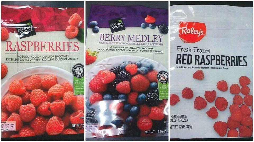 Aldi recalls frozen berries