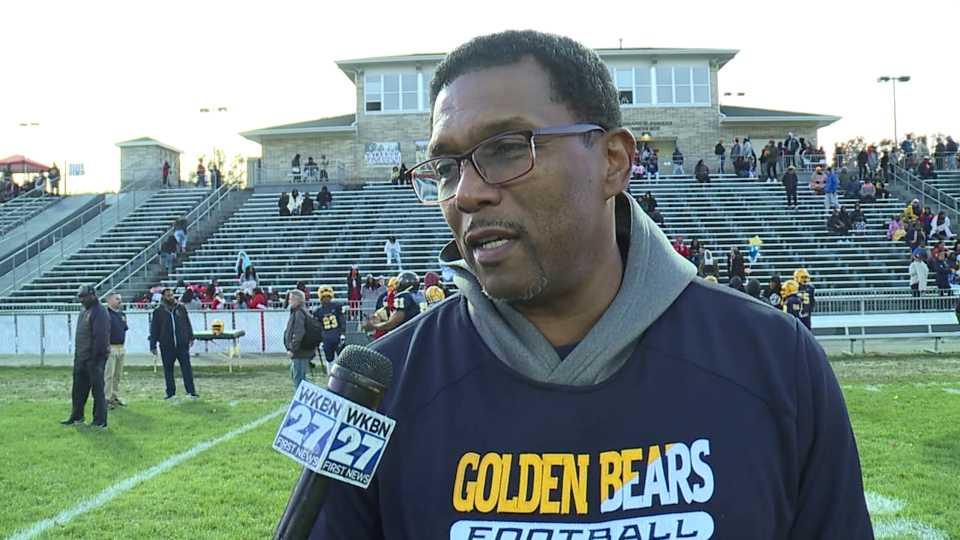 East High Football Coach Brian Marrow, Youngstown