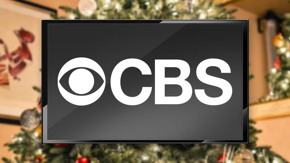 CBS Television TV lineup for Christmas.