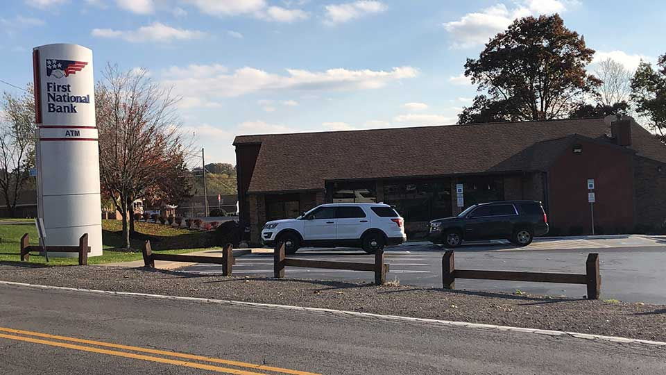 Police are investigating a bank robbery in Farrell.