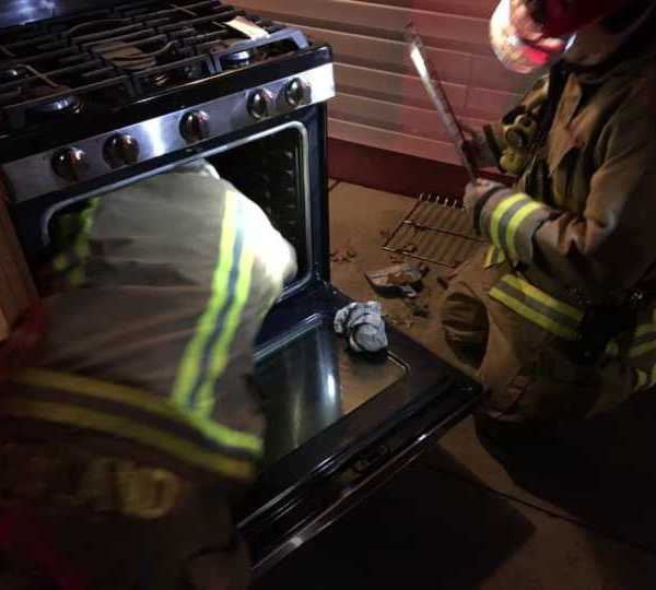 Howland firefighters stop oven fire then fixed it