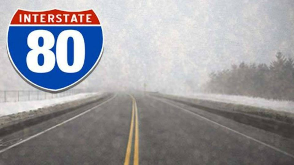 I-80 winter weather