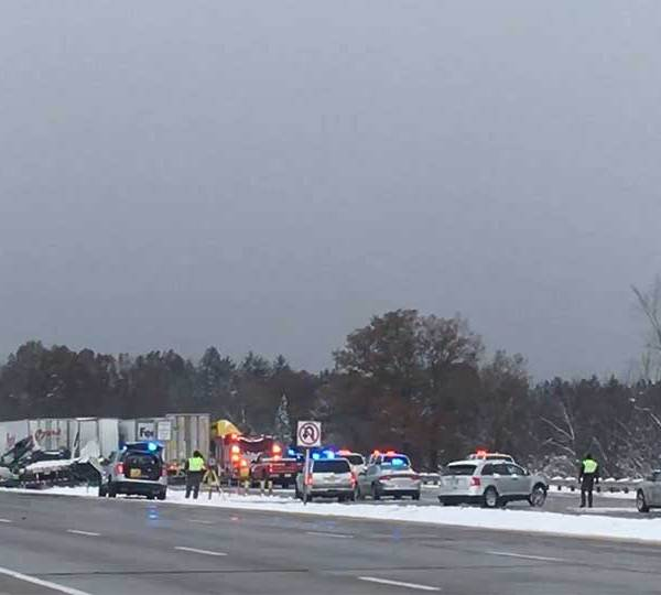 Interstate 80 50-car pile up in Austintown
