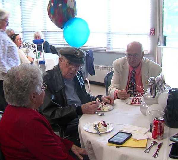 local veteran celebrates his one hundredth birthday
