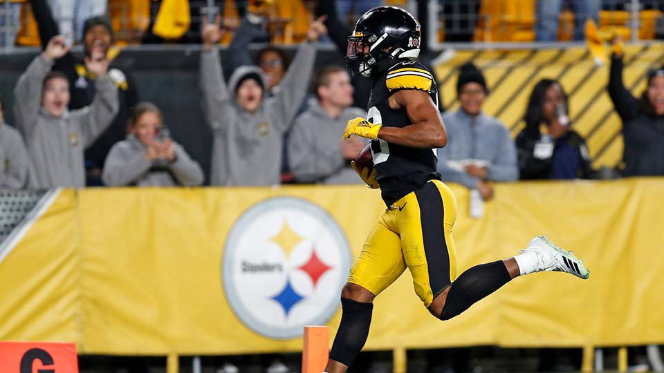 Pittsburgh Steelers free safety Minkah Fitzpatrick.