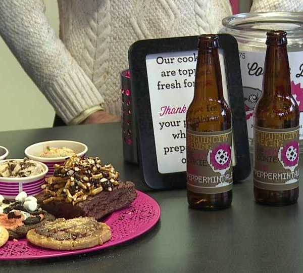 Penguin City Beer pink peppermint ale, One Hot Cookie, Youngstown