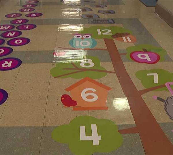 Poland Union Elementary School has a new way to help students focus in school.