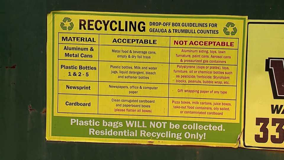 trumbull county recycling glass