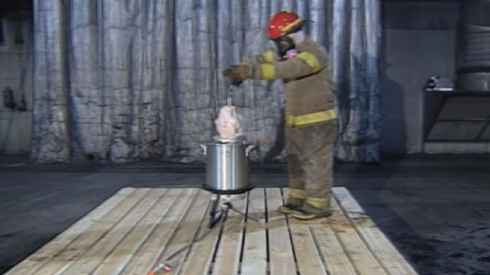 Turkey fryer safety
