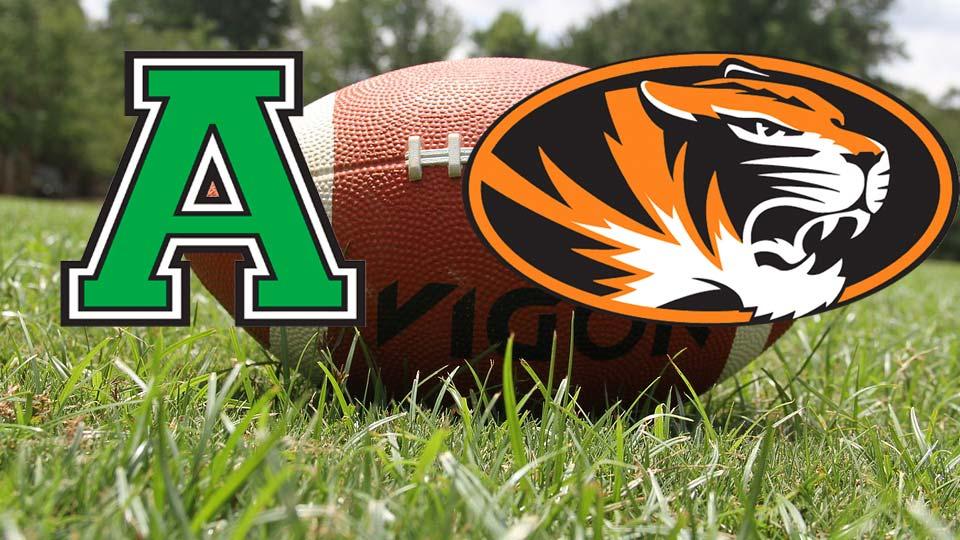 Anna Rockets vs. Springfield Tigers Football