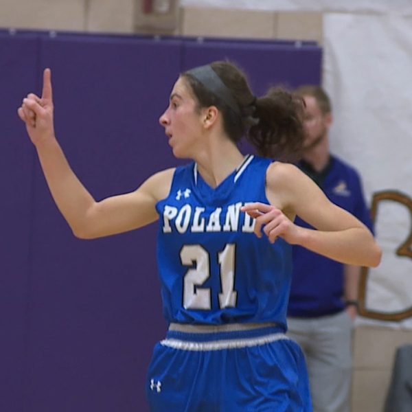 grisdale leads poland past champion for opening night win
