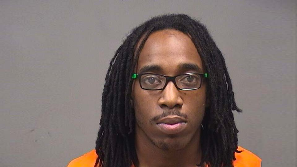 Demeek Davis, Victor Avenue, charges of improper handling of a firearm in a motor vehicle and carrying concealed weapons