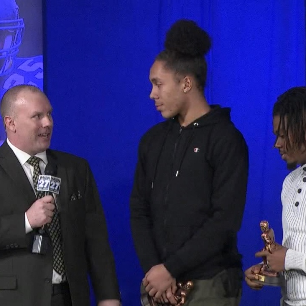 WKBN honored 22 of the area's best high school football players Wednesday at the 14th annual Big 22 awards banquet