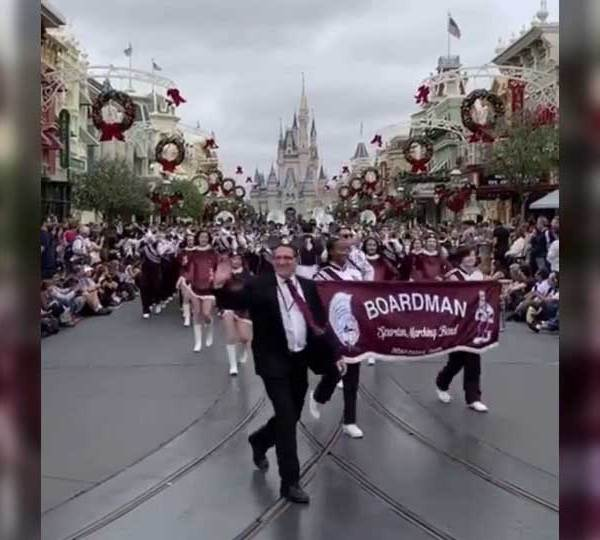 Boardman High School marching band, Disney World.