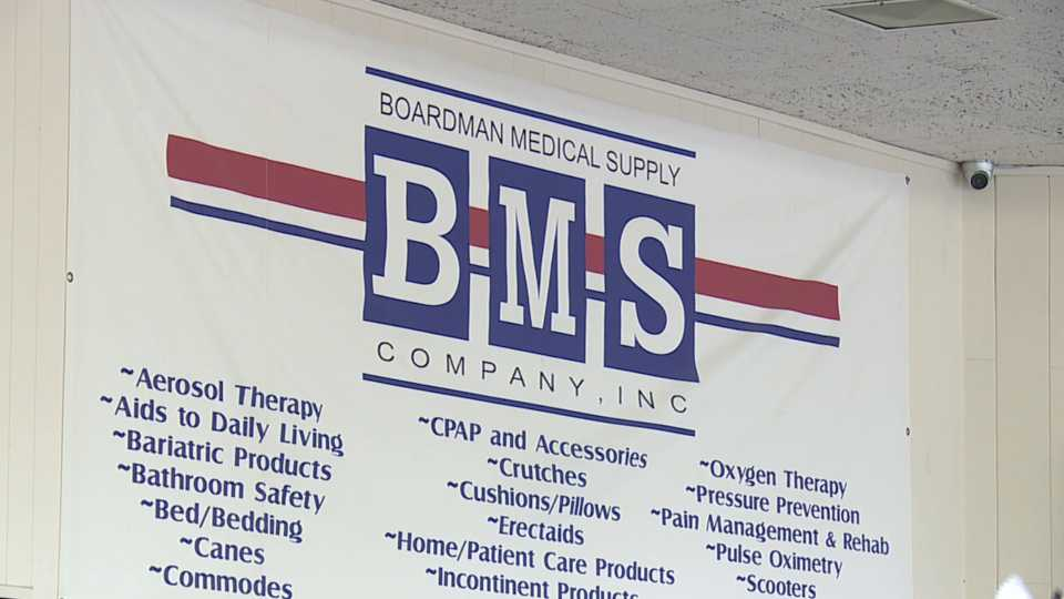 boardman medical supply sells respiratory side of business