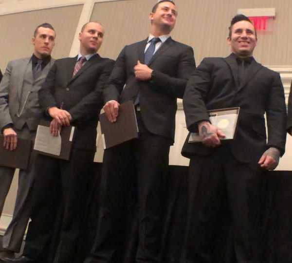 Dayton police officers honored for action in mass shooting