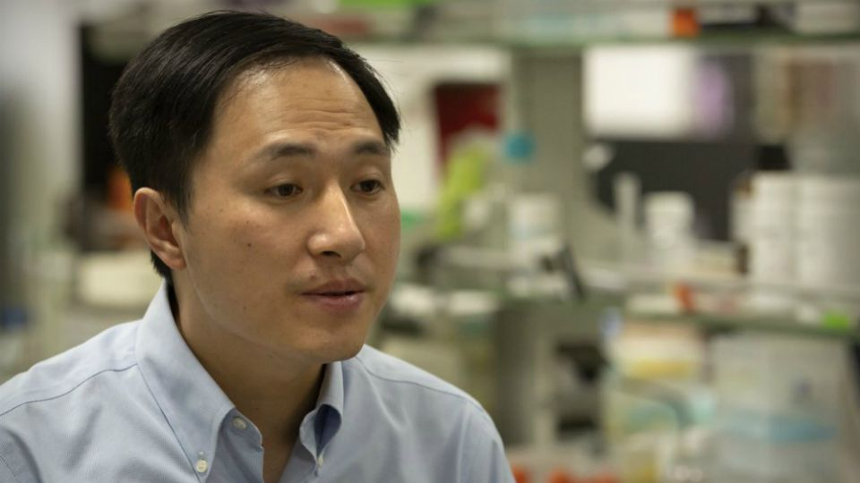 A Chinese scientist who set off an ethical debate with claims that he had made the world's first genetically edited babies was sentenced Monday to three years in prison.