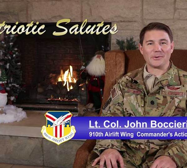 Lt. Col. John Boccieri is from the 910th Airlift Wing.