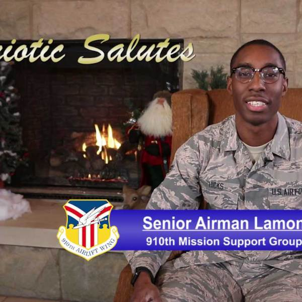 Senior Airman Lamont Hicks is with the 910th Mission Support Group at the Youngstown Air Reserve Station.