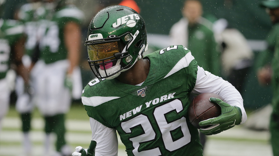 New York Jets running back Le'Veon Bell