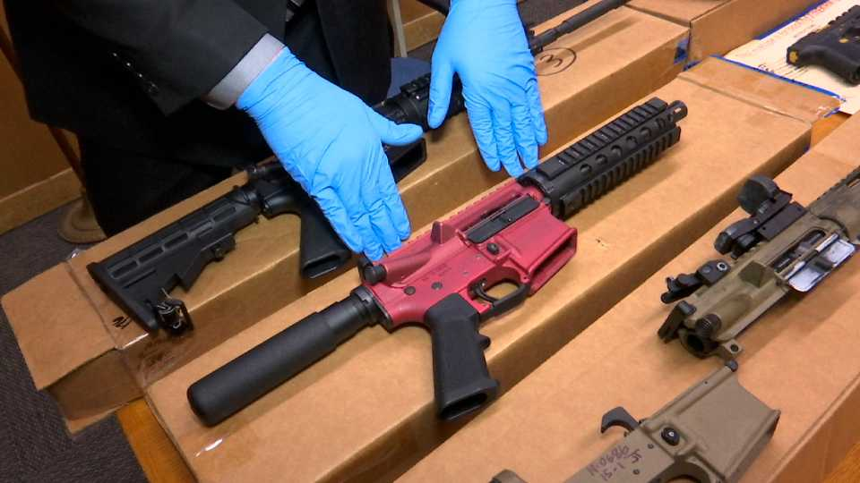 Pa. state police treat ghost guns parts as firearms