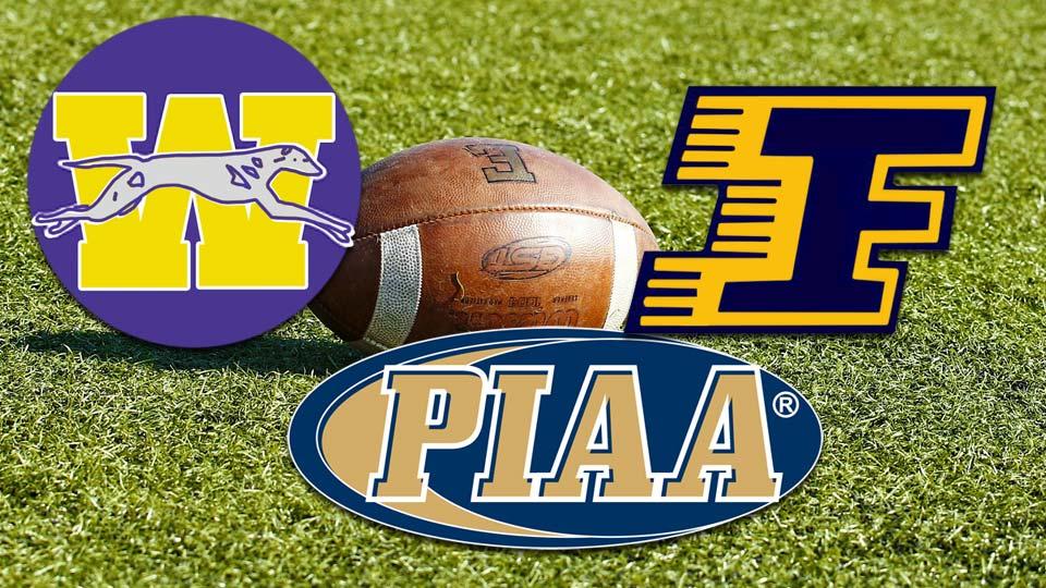 PIAA football Wilmington Greyhounds and Farrell Steelers