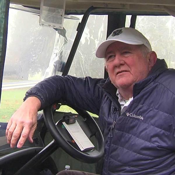 Local golfer Scott Davis