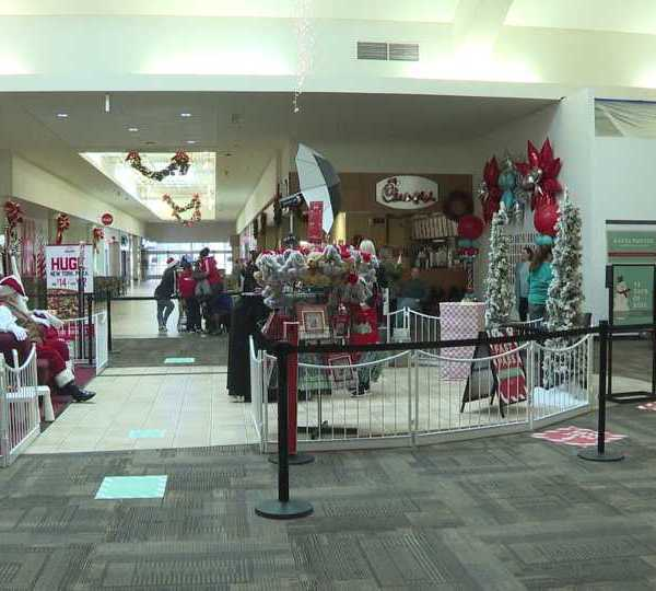 Sensitive Santa at Southern Park Mall for kids with sensitivity issues