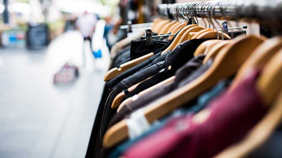 Shopping, clothing rack, hangers, store, boutique