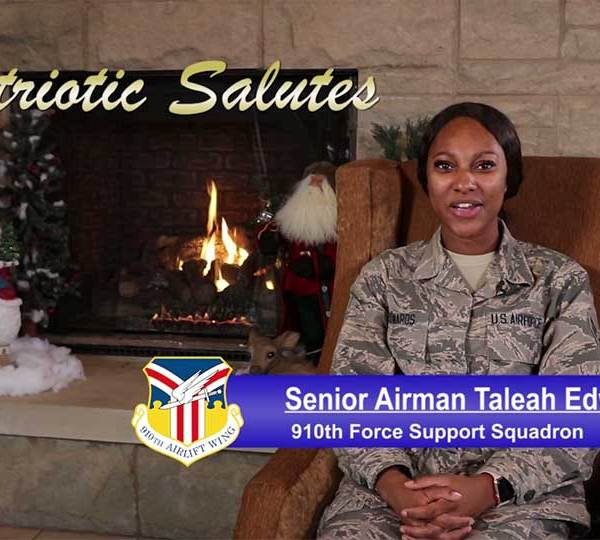 Senior Airman Taleah Edwards is with the Force Support Squadron at the Youngstown Air Reserve Station.