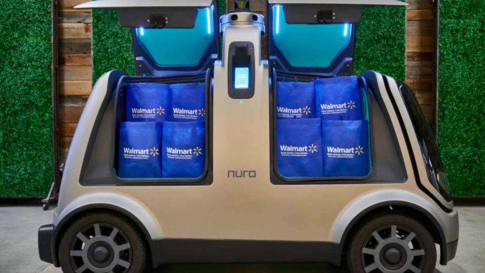 Self-driving vehicles could one day be delivering your Walmart order.