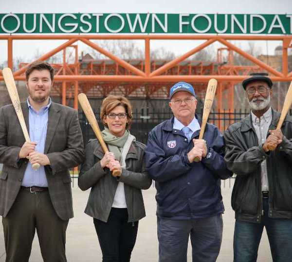Youngstown Foundation donates toward effort to build statue of Jackie Robinson and George Shuba handshake