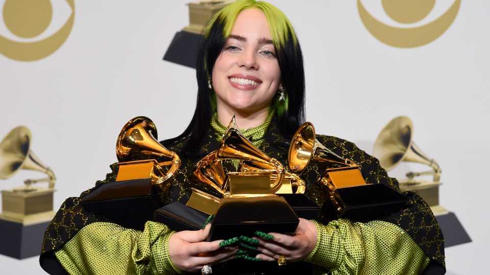 62nd Annual Grammy Awards Press Room