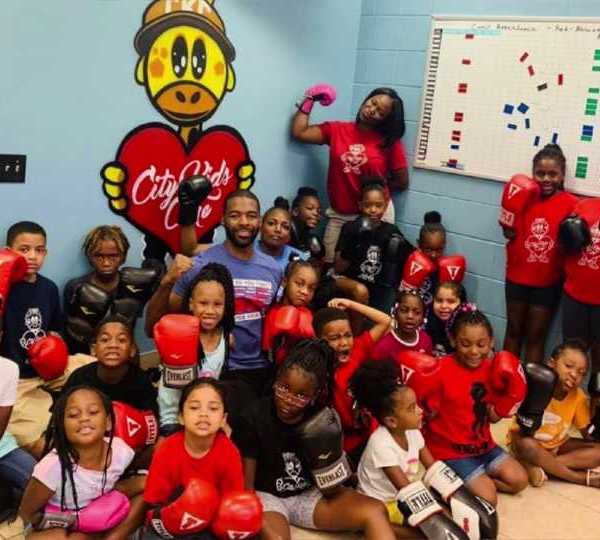 City Kids Care group in Youngstown