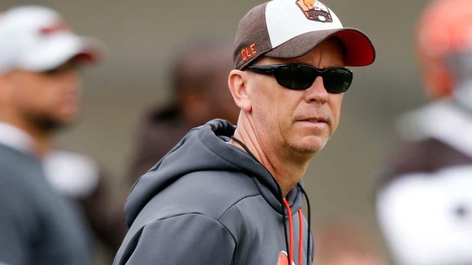 Cleveland Browns offensive coordinator Todd Monken