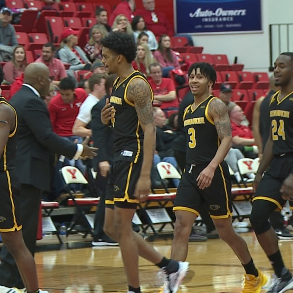 The Penguins overcame a 10-point halftime deficit to force overtime, but fell 75-73 Thursday at Beeghly Center.