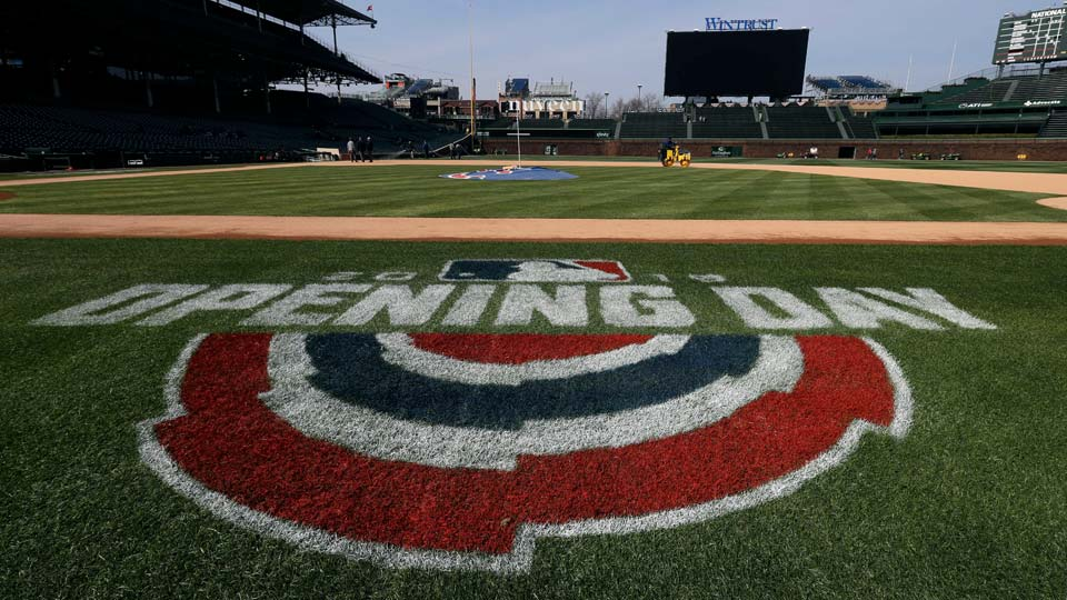 Wrigley Field, Saturday, April 6, 2019, for the opening day baseball game