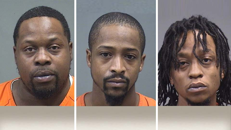 Arthur Finley, Raymond Gordon, Marcus Lee: Drugs charges Youngstown