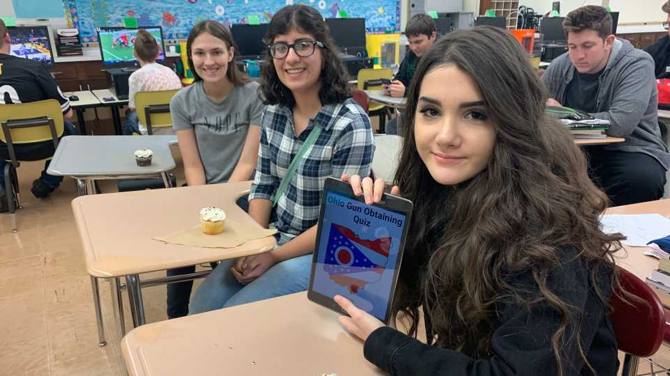 Boardman students win app challenge