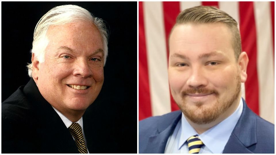 A Grove City man and a candidate from Butler have announced their candidacy for the 8th Legislative District in Pennsylvania.
