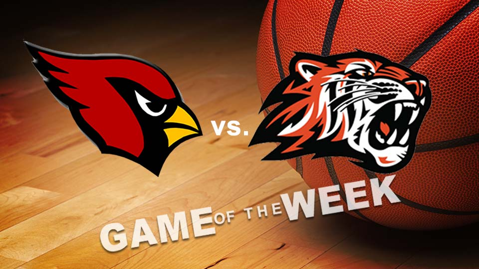Canfield Cardinals vs. Howland Tigers High School Basketball Game of the Week