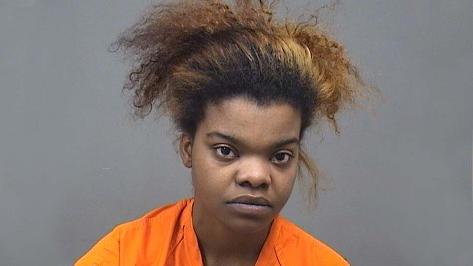 Champagne Bailey, charged with felonious assault in Youngstown.