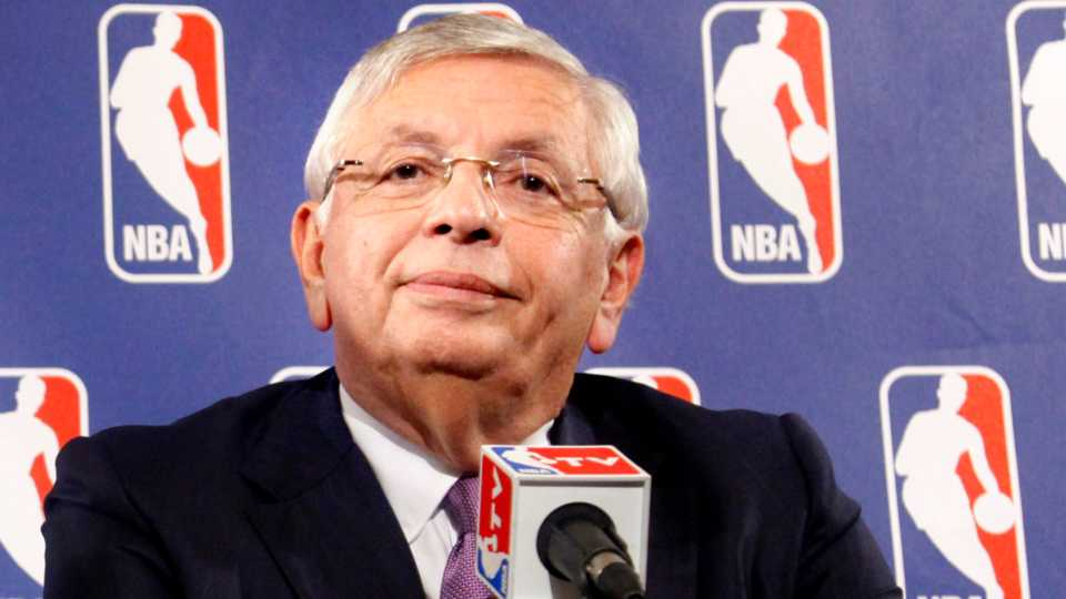NBA Commissioner David Stern listens during a news conference following NBA labor talks meeting between basketball players and owners in New York.
