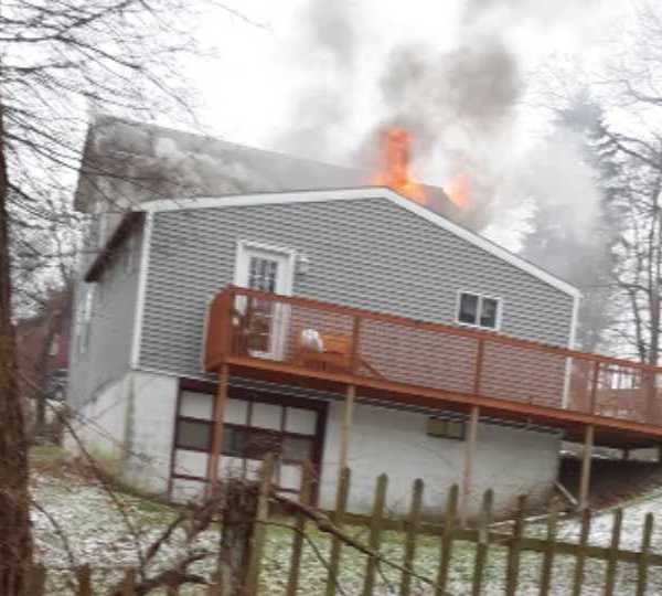 Wooster Street house fire, East Liverpool