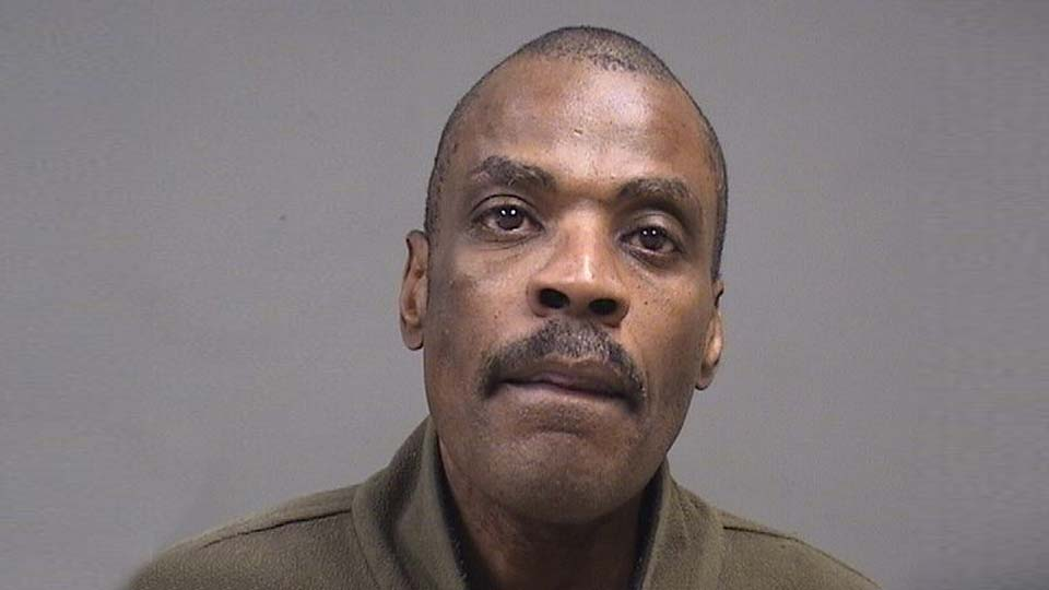 Eric Rutledge, charged with criminal trespass for refusing to leave Popeye's in Youngstown
