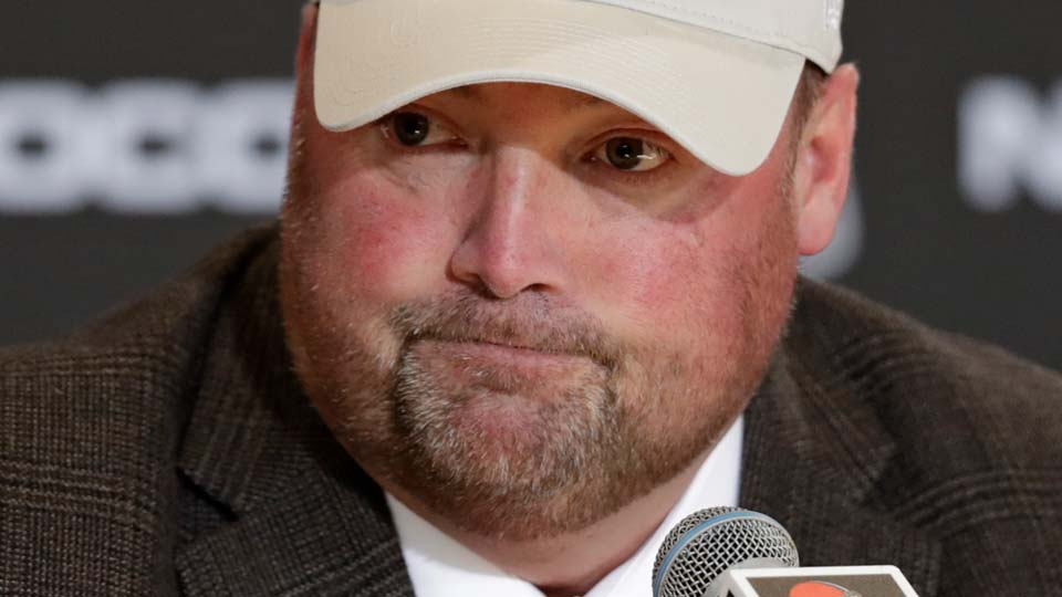 Former Cleveland Browns new NFL football head coach Freddie Kitchens