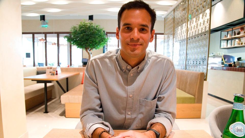 Giacomo Ziani, co-creator of ToTok, UAE