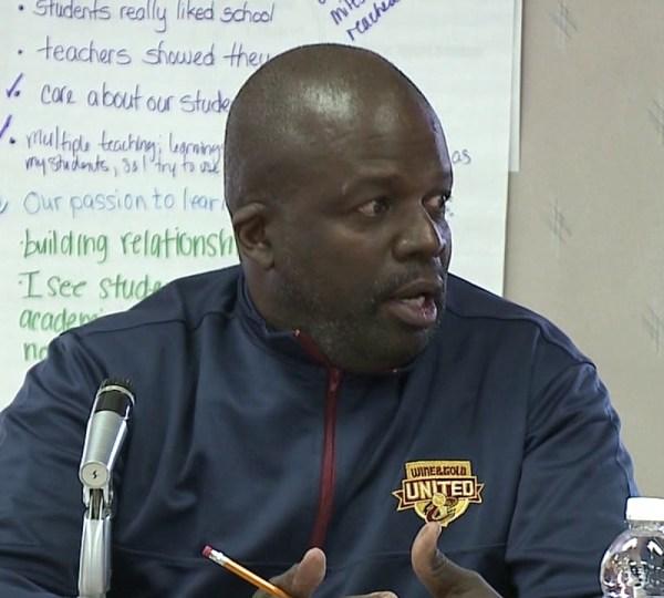 Youngstown School Board member Jerome Williams