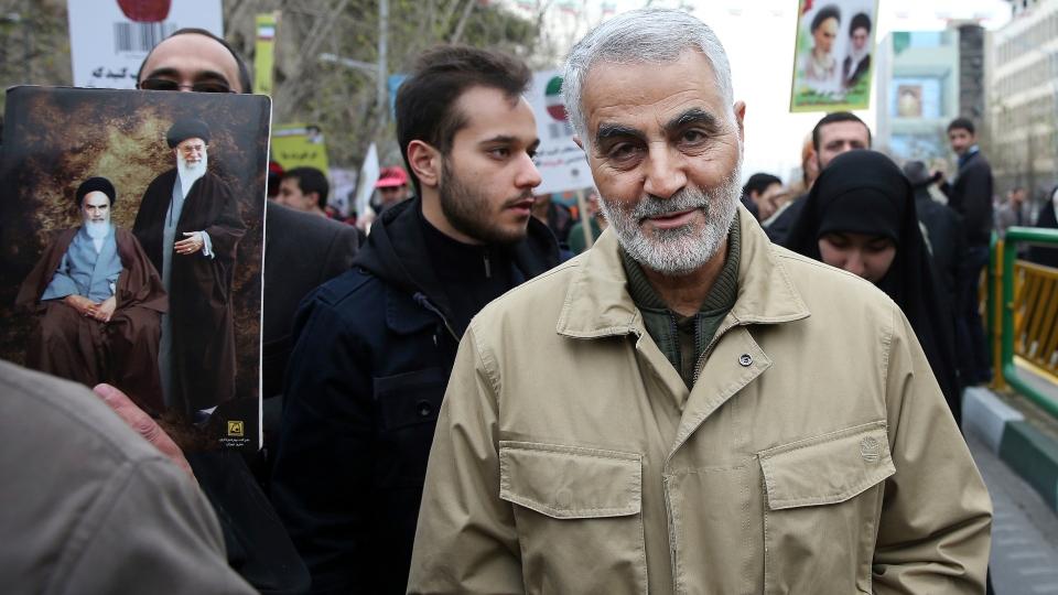 Iran Gen. Qassem Soleimani