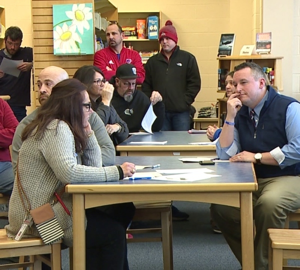 Western Reserve School Board meeting